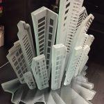 פסל של בניינים לבית