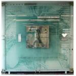 שלט אומנותי מזכוכית