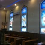 חלונות 12 השבטים לבית כנסת