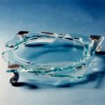 מאפרה מזכוכית